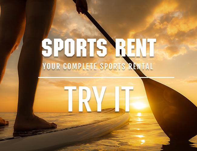 sports rent rentals